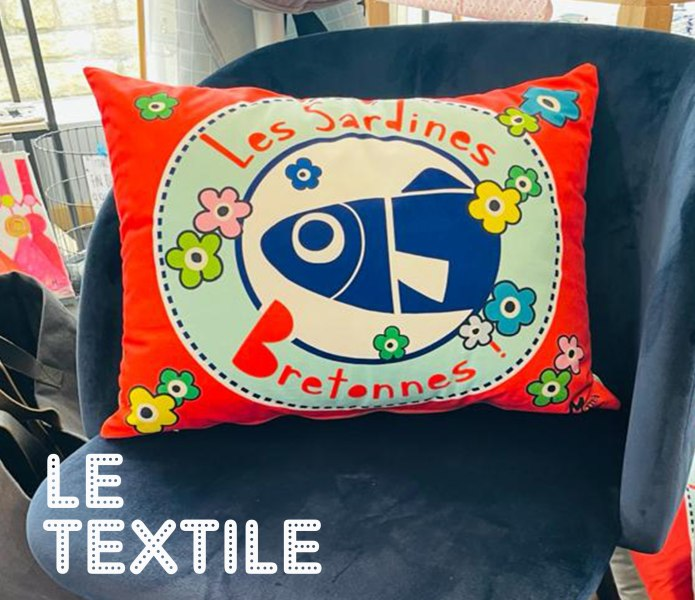 Textile deco bord de mer